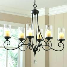 hanging candle chandelier images best ideas on throughout metal chandeliers