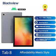 Camera Hành Trình Blackview Tab 8 2in1 Máy Tính Bảng Điện Thoại Thông Minh  Octa Core