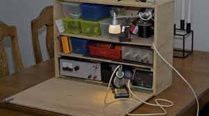 electronics workbench ideas. article featured image electronics workbench ideas