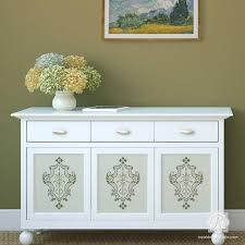 painting designs on furniture. Painting Furniture With Classic Italian Designs - Villa Damask Stencils Royal Design Studio On N