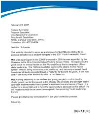 Letter Of Recommendation Supervisor Employee Recommendation Letter From Manager Under