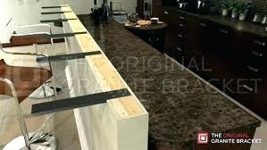 granite dishwasher mount for installation within anchoring to ideas countertop