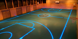 premier led lighting solutions. newly developed led-embedded basketball courts, running tracks and football fields could change the premier led lighting solutions