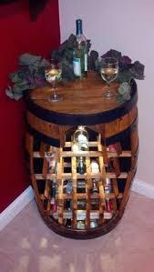 wine barrel wine rack furniture. super cute wine rack idea barrel 50000 via etsy furniture