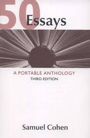 essays a portable anthology rd edition bookshare 50 essays a portable anthology 3rd edition
