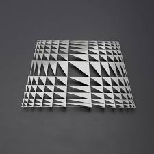 abstract metal wall art geometric wall