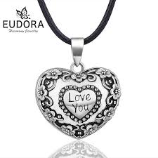 whole whole heart flower style harmony ball pendant necklace pregnancy sound chime ball mexcian bola pendants for pregnant women b317 anchor pendant