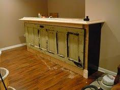 repurposed door bars bar made from antique door i would like this look for a custom