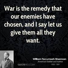 Tecumseh Quotes Impressive William Tecumseh Sherman Quotes QuoteHD