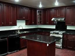 Small Picture Dark Cherry Kitchen Cabinets Redtinku