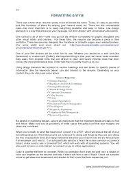Visual Artist Resume 1 Resume Bank