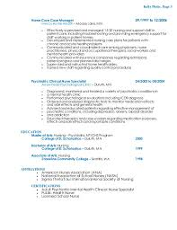 Ideas Of Resume Home Care Nurse Home Health Nurse Resume Sample