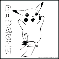 coloring pages pikachu coloring pages free baby page for kids word search puzzles and other