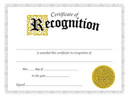 Certificate Of Recognition Template Free Download Free Sample Certificate Appreciation Template New Of Recognition1
