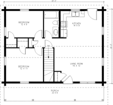 simple housing floor plans. Tiny House Single Floor Plans 2 Bedrooms | Small Kit Homes One Of Simple Housing F