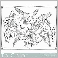 Flower Coloring Pages Pdf New Flowers Coloring Pages Color Printing
