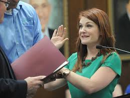 Beth Kenward 'humbled' by swearing in ceremony   Government ...