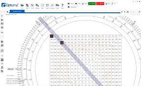 Gann Square Of 12 Chart Olga Morales Optumas Ganntrader Software Optuma