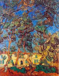 madhouse garden painting a vincent van gogh paintings reion we never madhouse garden
