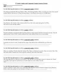 Math. 7th grade language arts worksheets printable: Writing ...