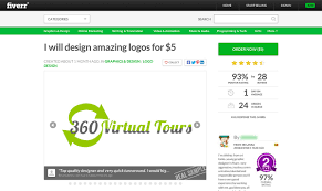 Fiverr Logo Design Cost What Kind Of Logo Do You Get For 5 The Startup Medium