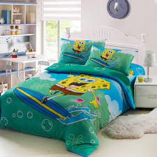 New high quality home children bedding set of spongebob, 2 pillow case, 1  bed sheet and 1 duvet cover-in Bedding Sets from Home & Garden on  Aliexpress.com ...