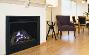 direct vent gas fireplaces do not require a chimney and can be vented directly through a wall or roof the direct vent draws its combustion air from outside