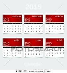 Simple 2015 Calendar Clipart Of Simple 2015 Year Calendar January February March