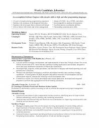 Entry Level Software Engineer Resume And Get Inspired To Make Your