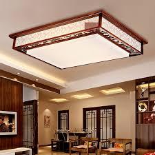 wood light fixture ceiling