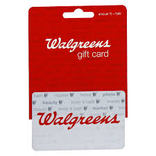 walgreens non denominational gift card1 0 ea