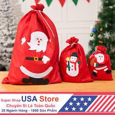Túi Đựng Quà Của Ông Già Noel - Giáng Sinh Tiente, Giá tháng 1/2021