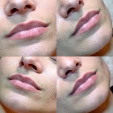 татуаж губ фото до процедуры и после виды перманентного макияжа