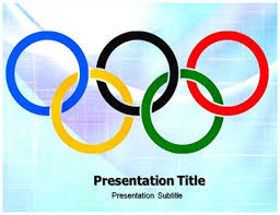 Powerpoint Ppt Templates On Olympic Powerpoint Background