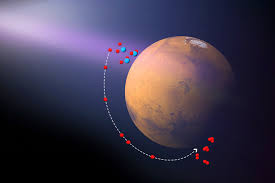 scientists discover third ozone layer in atmosphere of mars  ozone production over the southern winter pole on mars oxygen atoms produced by the ultraviolet