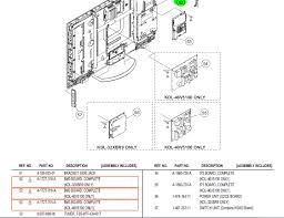 sony tv parts. graphic sony tv parts e