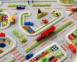 mini city 3d play carpet medium 100 x 150cm new