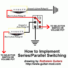 wiring diagram for a series parallel switch wiring series wiring in pos 2 and 4 on a strat telecaster guitar forum on wiring diagram