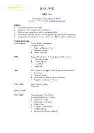 Resume Template Writers Chicago Warehouse Operations Manager