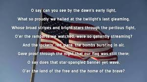 star spangled banner u s national anthem lyrics star spangled banner u s national anthem lyrics americana the star the national and stars
