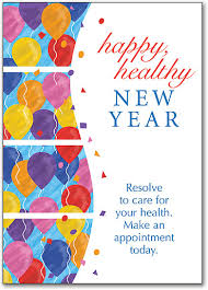 happy new years postcard new years themed postcards smartpractice chiropractic