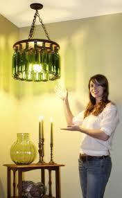diy wine bottle chandelier classic diy wine bottle chandelier gallery