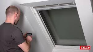 Reset Bei Einem Velux Integra Dachfenster Youtube