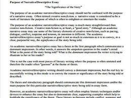 narrative essay example narrative essay examples academic sample narrative essay 8 examples in word pdf
