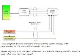 wiring diagram 4 wire smoke alarm wiring diagram 007 4 wire smoke detector wiring diagram at House Fire Alarm Wire Diagrams
