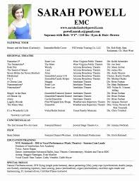 Theatre Resume Example 24 Luxury Acting Resume Examples Resume Templates Ideas Resume 9