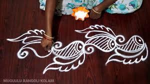 Side Rangoli Designs Images Corner Rangoli Designs Muggulu Side Designs For Muggulu