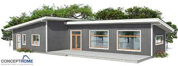 Small House CH3 To Wide Lot With Affordable Building BudgetAffordable House Plans To Build