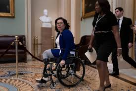 Senate as a democrat in 2016 and began representing illinois the following year. Tammy Duckworth Reacts To Donald Trump State Of The Union Belleville News Democrat