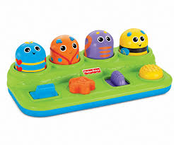 Fisher price pop up toys